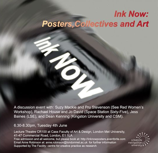 Ink Now. Posters Collectives and Art